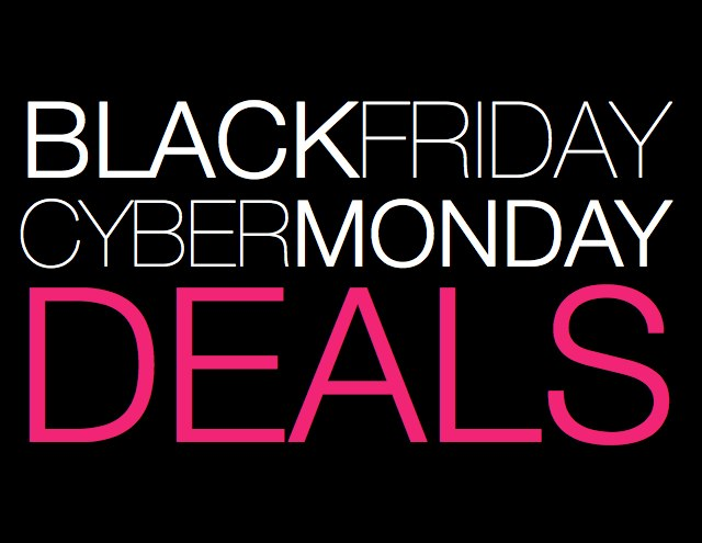 Black friday and cyber monda deals